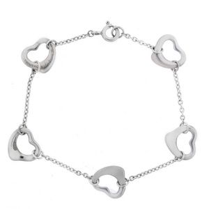 Tiffany & Co. Open heart Elsa Peretti bracelet